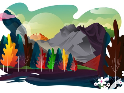 Landscape Illustartion