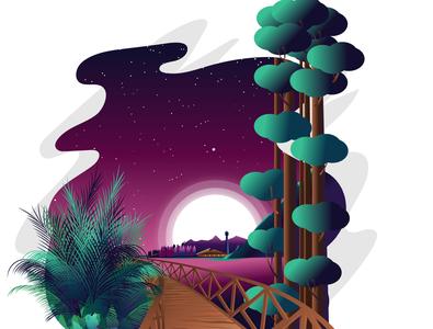 Night landscape final  01