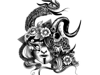 T-shirt design illustration digital painting digitalart digital illustration hand drawing vector drawing illustration graphic design chandrani das