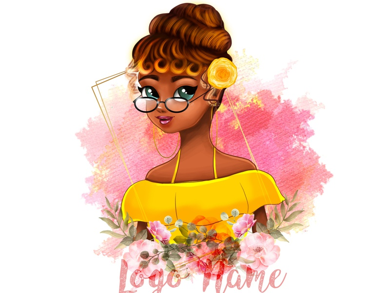 Cute woman digital photoshop painting digital painting digitalart digital illustration cartoon portrait portait drawing illustration graphic design chandrani das