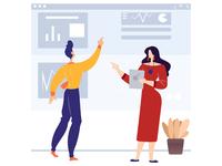 Data Analysis - Landing page illustration