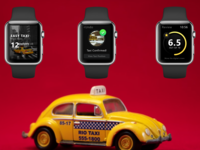 Taxi - Smartwatch App