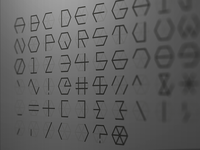 Polygon Font