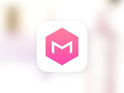 MEMEBOX memebox meme pink cosmetic e-commerce launcher icon icon android iphone ios