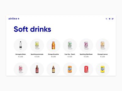 Online shop - Exploration simple airline ux product page app ui typography minimal design
