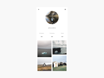 👨🏻🎨 Daily UI  #6 User Profile