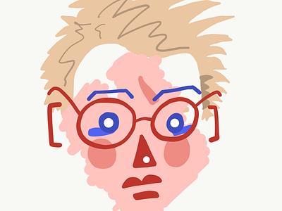 😳 self illustration