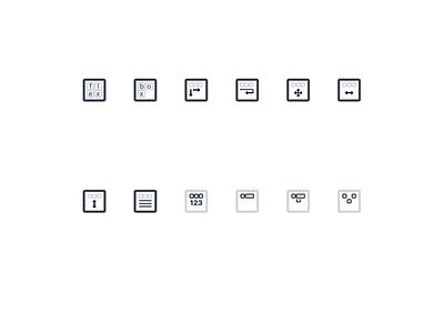 Flex Box Properties html css lines icons flexbox box flex