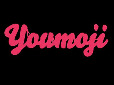 youmoji logo custom emoji branding font logo