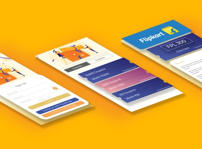 UI Design for Coupon Aggregator App