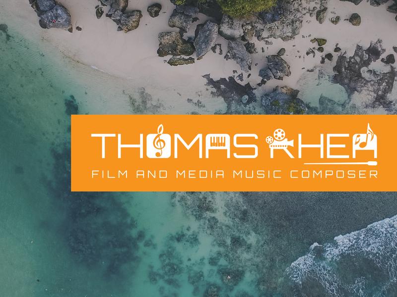 Logo for Thomas Rhea illustrator cc design logo vector illustration