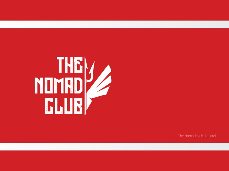 Logo design_the nomad club logo design icon branding logo illustrator vector illustration illustrator cc design