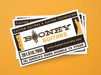 Booney Guitars