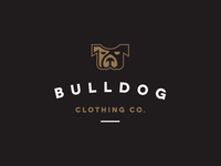 Bulldog Clothing Co. Logo