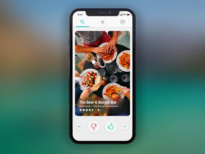 Tinder for Food 🎥