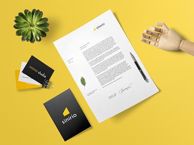 Sinirio Branding typography art creative logo branding design idea sinirio studio sinirio farfalla hu farfalla