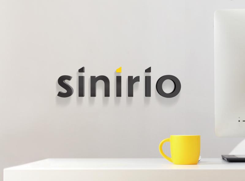 sinirio logo icon typography creative idea design logo branding sinirio studio sinirio farfalla hu farfalla