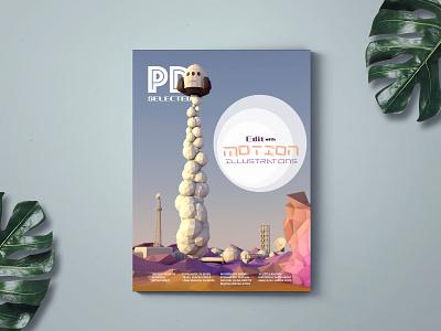 PD Selected Motion Magazine animation interactive interaction design motion typography illustration branding design idea farfalla hu farfalla creative art
