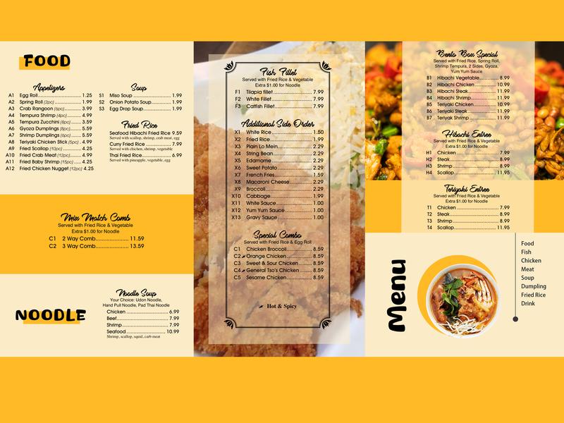Restaurant TV Menu ios illustration tools vector print restaurant fun minimal ui typography noodle food tv menu branding design idea farfalla creative farfalla hu