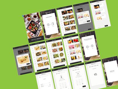 Food Order Kiosk ui website ios icon web system xd order food restaurant tools kiosk app ux branding design idea farfalla hu farfalla creative