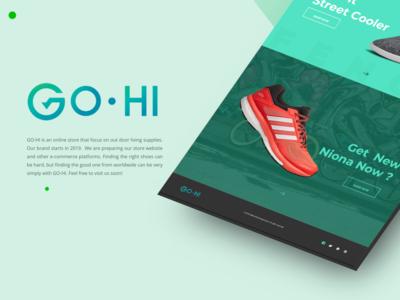 GO HI Online Store Branding