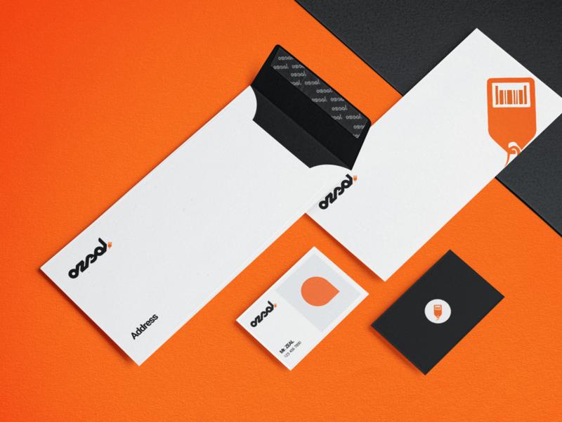 ozeal envelope vector typography art logo branding design creative idea farfalla hu farfalla