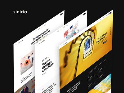 Sinirio websites sinirio studio sinirio idea web logo web design ux branding creative farfalla farfalla hu
