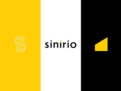 Sinirio Studio Logo tools icon web logo branding creative design sinirio studio sinirio farfalla hu farfalla