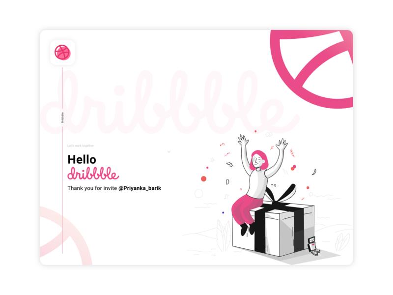 Dribbble Debut dribbble shot illustrations hello dribbble hellodribbble illustration design