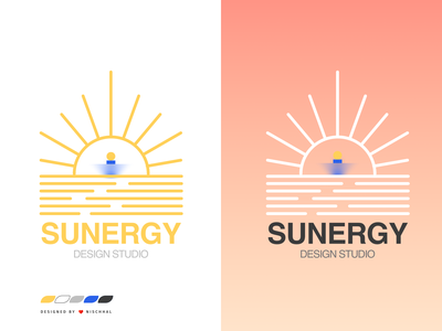 Sun Logo | Based on Work Ethic vector branding sun logo logo illustration warmup weekly weeklyui weekly challenge weekly warm-up weeklywarmup design