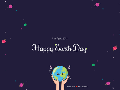Earth Day 2021 | Design Challenge 2021 earthy vector earth earth day illustration typography earthday earth day 2021 earthday2021 uidesign design