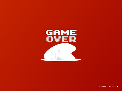 Game Over | Character Design 2021 concept design vector playoffs digital painting character design game over