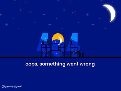Error 404 - Web page error | 404 Concept 2021 web 404 page 404 error 404 error page 404page page not found 404 error 404 uidesign design branding ui