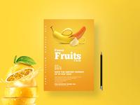 Fruit Flyer design