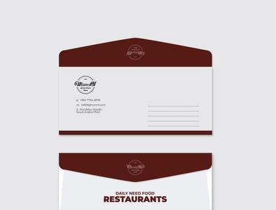 Restaurant Envelope