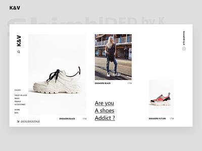 Sneaker eCommerce Website ecommerce design ui ux shoe design shoes shop shopping sneaker website ecommerce sneakers sneaker