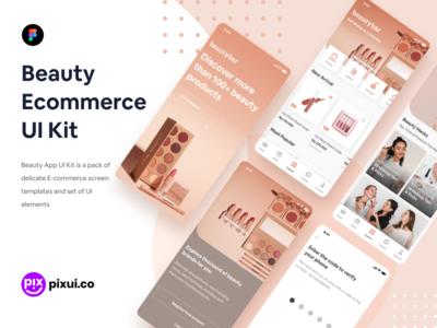 Beauty Ecommerce UI Kit