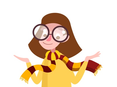 I really love Harry Potter. гарри поттер значок плоский дизайн вектор логотип брендинг типография приложение иллюстрация дизайн