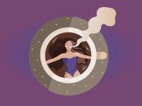 Swimming on Coffee