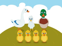 The Ugly Duckling Characters