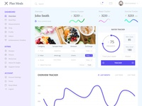 Meal Plan Web App Design