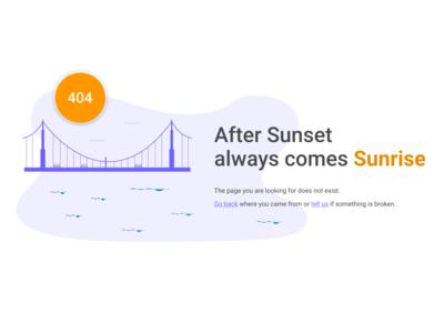 404 Page for Weather Desktop App