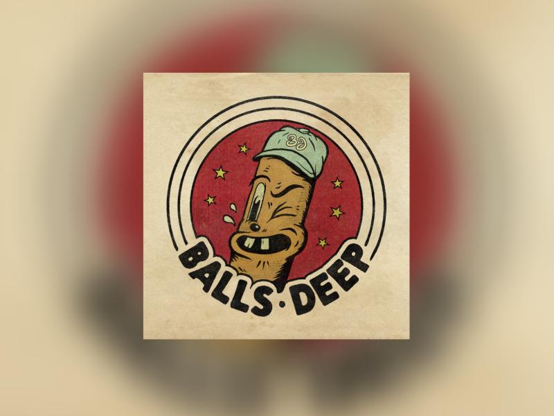 Balls Deep - (Condom Wrapper) by Matthew Draeger on Dribbble