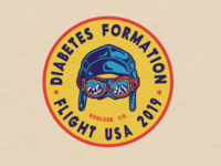 2019 Diabetes Formation Flight USA Logo