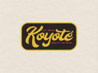 Koyoté - Badge Design 1