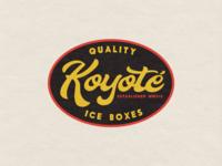 Koyoté - Badge Design 2