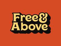 Free & Above Logo