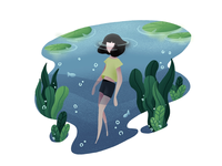 A Girl In the Water