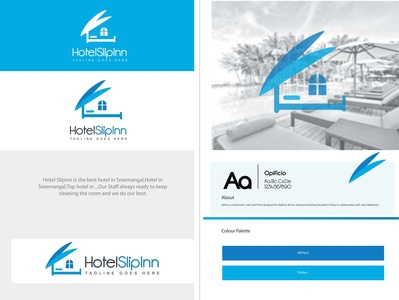 Logo for hotel/real estate