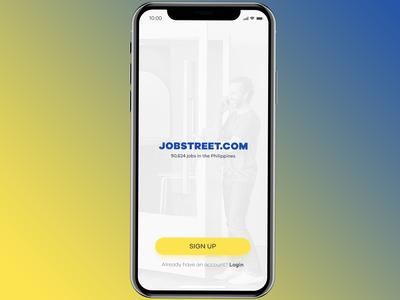 Jobstreet Redesign Mobile App